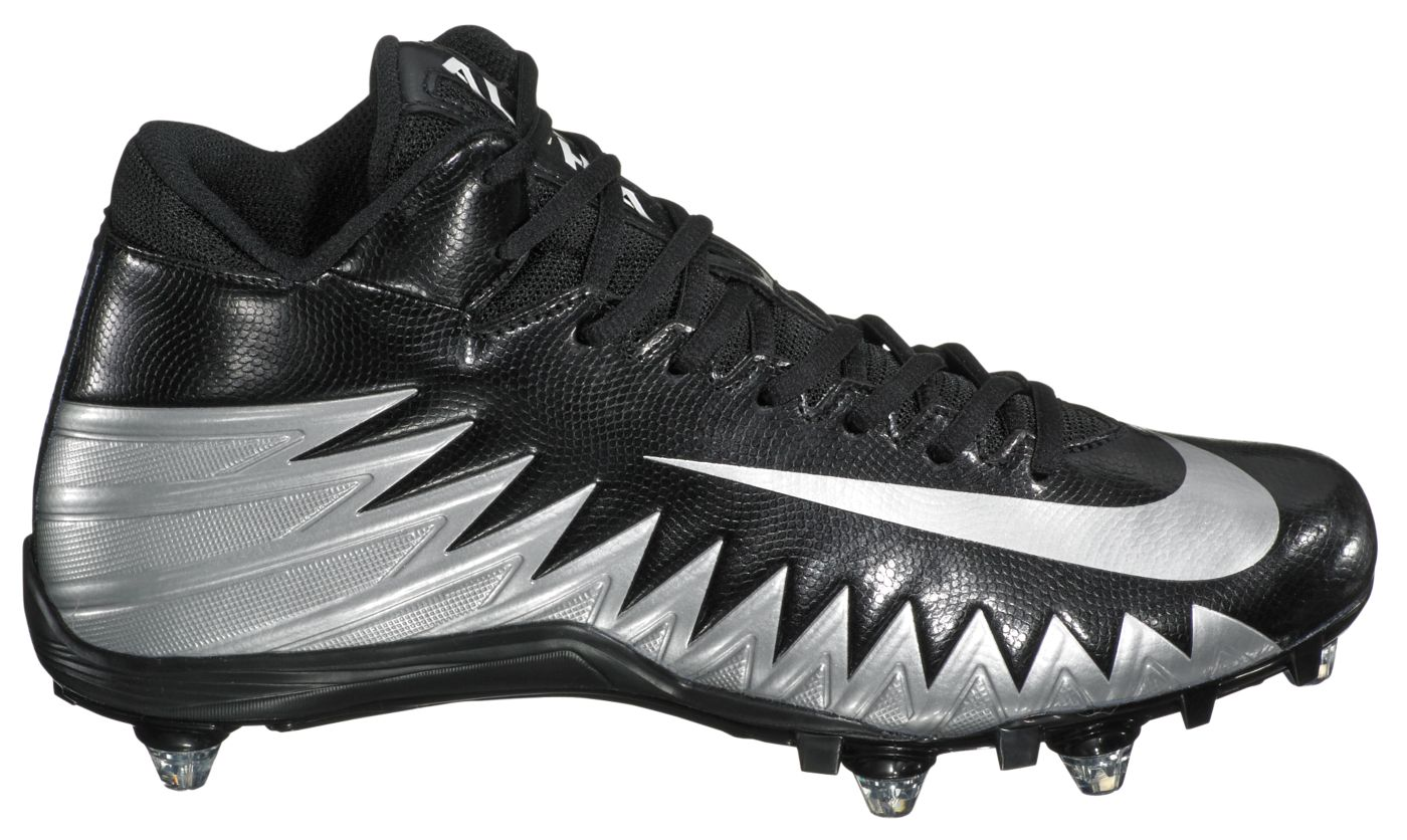 Nike Men's Alpha Menace Varsity Mid D Football Cleats