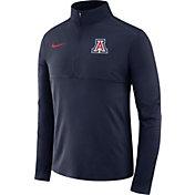 Nike Men's Arizona Wildcats Navy Long Sleeve Core Half-Zip Shirt