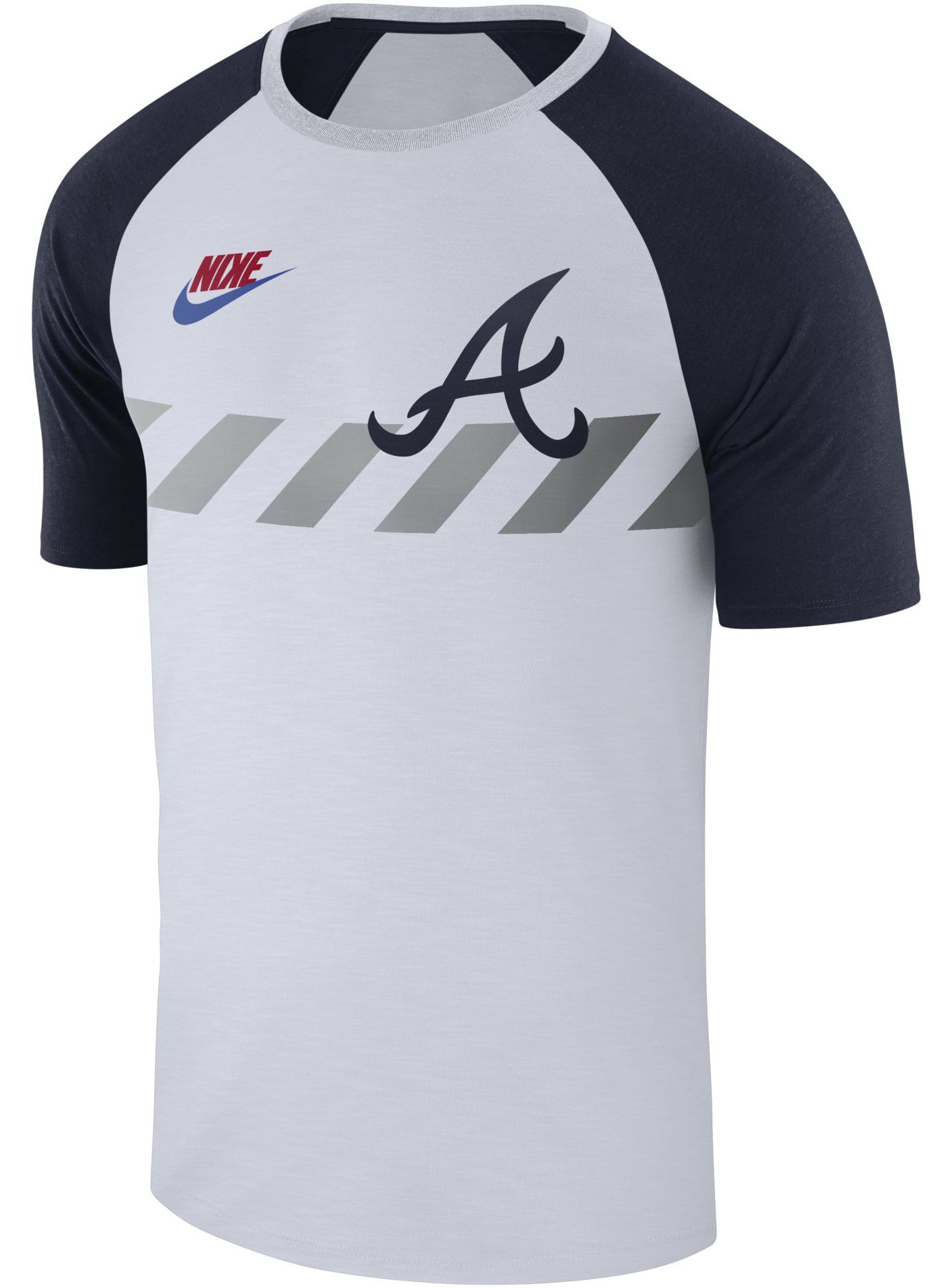 Nike Men's Atlanta Braves Dri-FIT Raglan T-Shirt