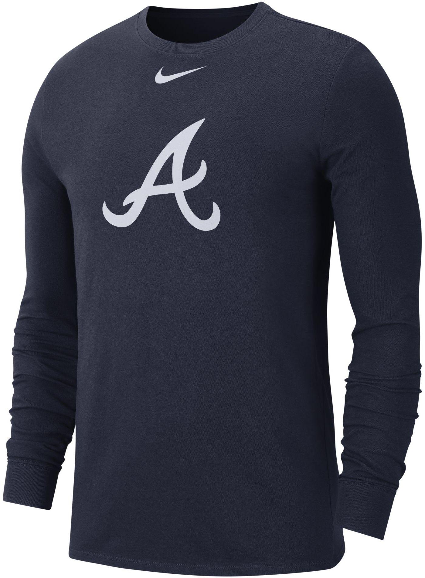 Nike Men's Atlanta Braves Dri-FIT Long Sleeve Shirt