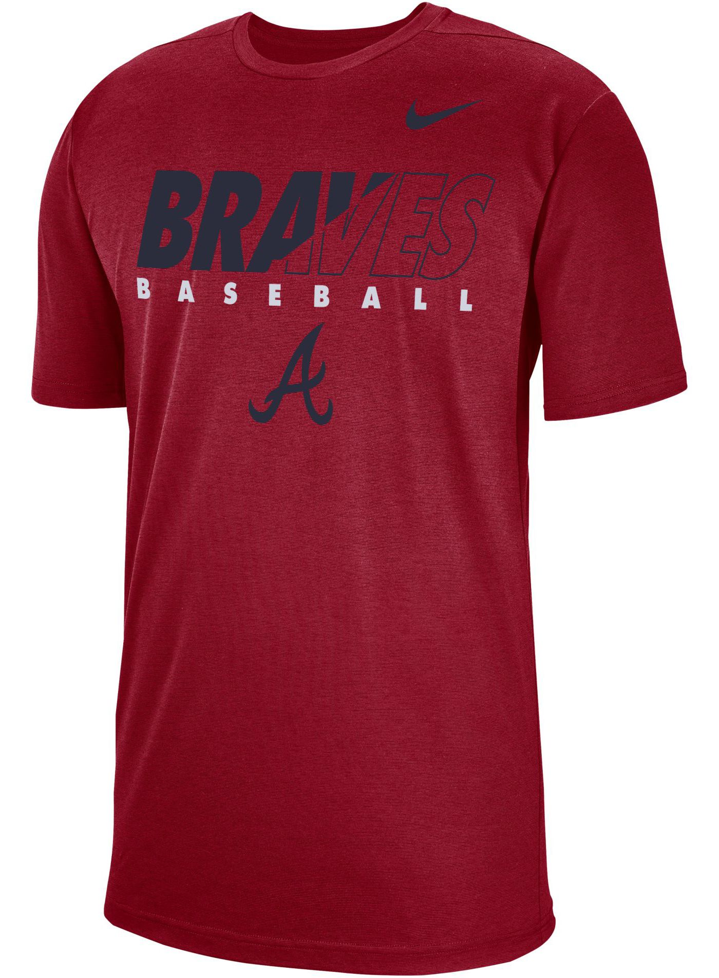 Nike Men's Atlanta Braves Dri-FIT Breathe T-Shirt