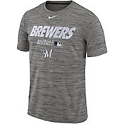 Nike Men's Milwaukee Brewers Dri-FIT Authentic Collection Legend T-Shirt