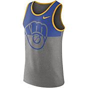 Nike Men's Milwaukee Brewers Dri-FIT Tank Top
