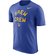 "Nike Men's Milwaukee Brewers Dri-FIT ""Brew Crew"" T-Shirt"