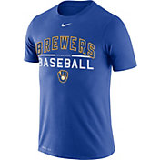 Nike Men's Milwaukee Brewers Practice T-Shirt