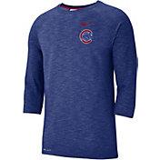 d469fe48dd4 Product Image · Nike Men s Chicago Cubs Dri-FIT Slub Three-Quarter Sleeve  Shirt