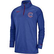 Nike Men's Chicago Cubs Dri-FIT Elite Half-Zip Pullover