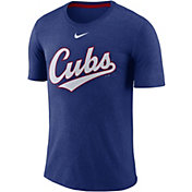 Nike Men's Chicago Cubs Tri-Blend T-Shirt