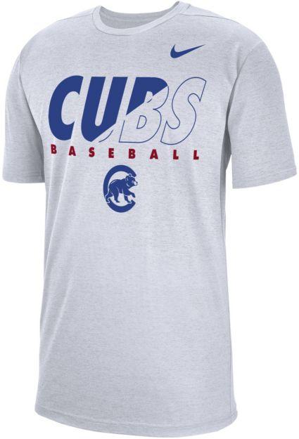 cf382ecd Nike Men's Chicago Cubs Dri-FIT Breathe T-Shirt | DICK'S Sporting Goods