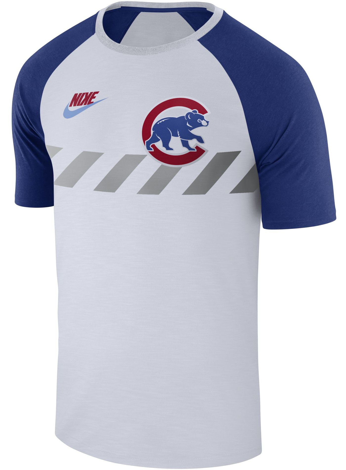 Nike Men's Chicago Cubs Dri-FIT Raglan T-Shirt