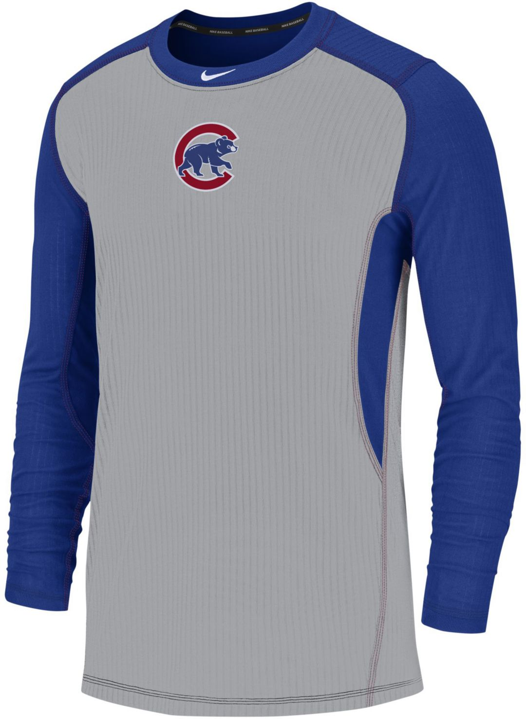 new arrivals 1e759 911c3 Nike Men's Chicago Cubs Authentic Collection Dri-FIT Long Sleeve Top