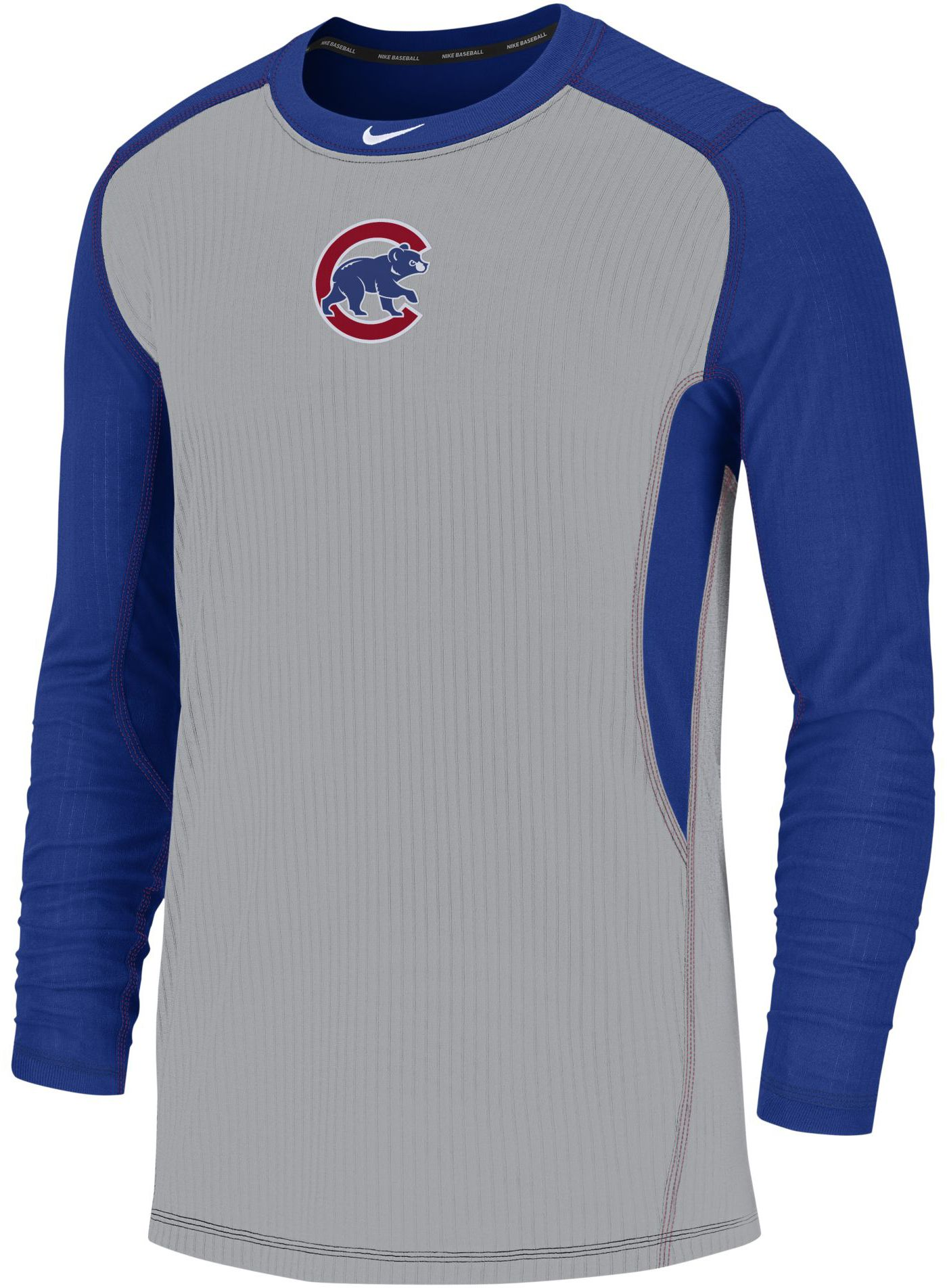 Nike Men's Chicago Cubs Authentic Collection Dri-FIT Long Sleeve Top