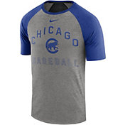 Nike Men's Chicago Cubs Dri-FIT Slub Raglan T-Shirt