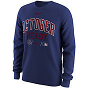 "Nike Men's Chicago Cubs 2018 MLB Postseason Dri-FIT Authentic Collection ""October Ready"" Royal Long Sleeve Shirt"