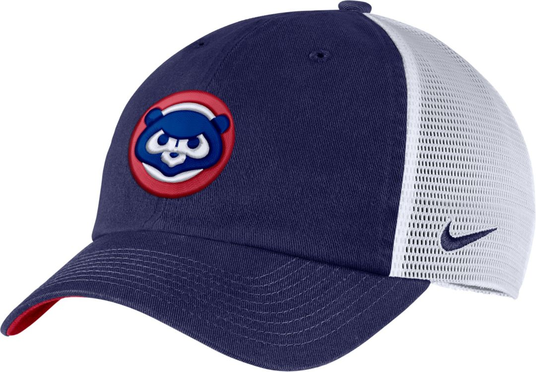 037b608cc Nike Men's Chicago Cubs H86 Trucker Adjustable Hat
