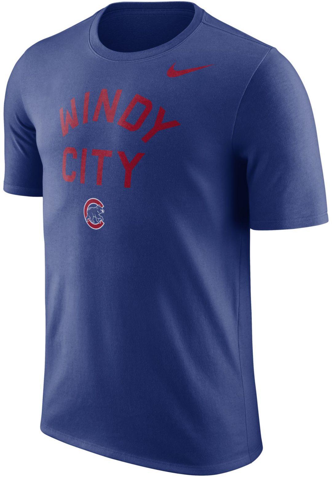 newest 1750e 72172 Nike Men's Chicago Cubs Dri-FIT