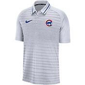 Nike Men's Chicago Cubs Striped Polo