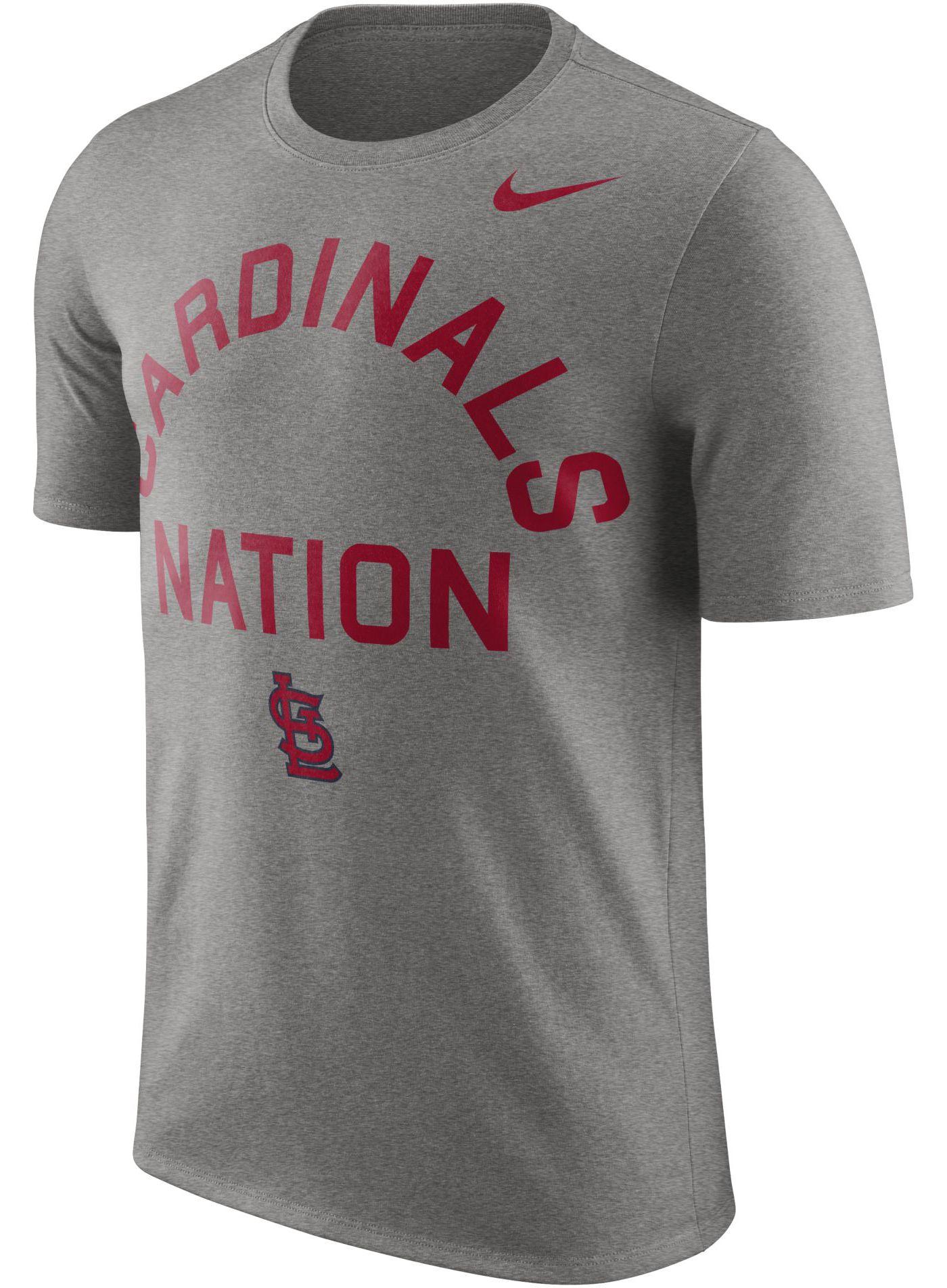 "Nike Men's St. Louis Cardinals Dri-FIT ""Cardinals Nation"" T-Shirt"