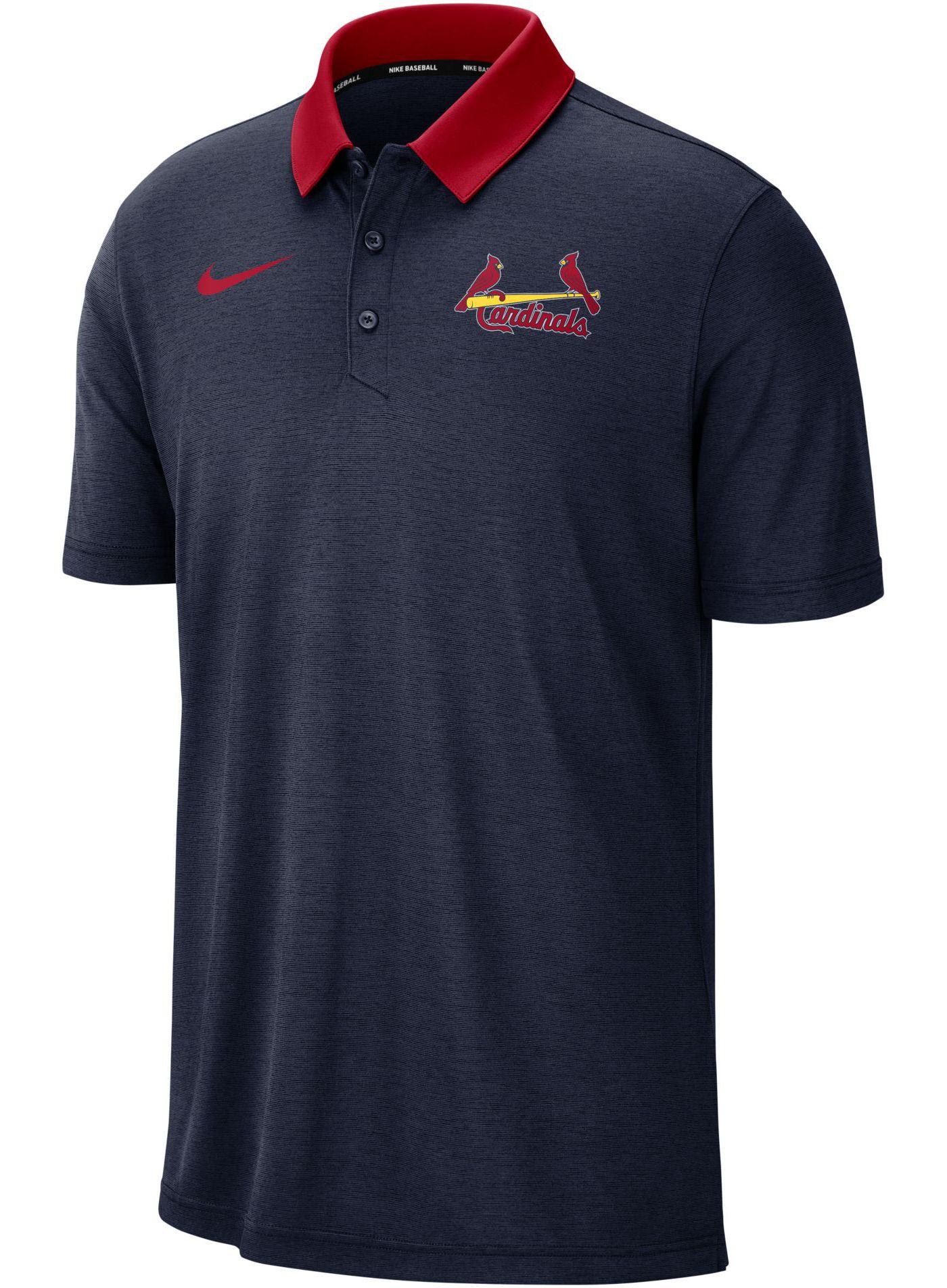 Nike Men's St. Louis Cardinals Breathe Polo