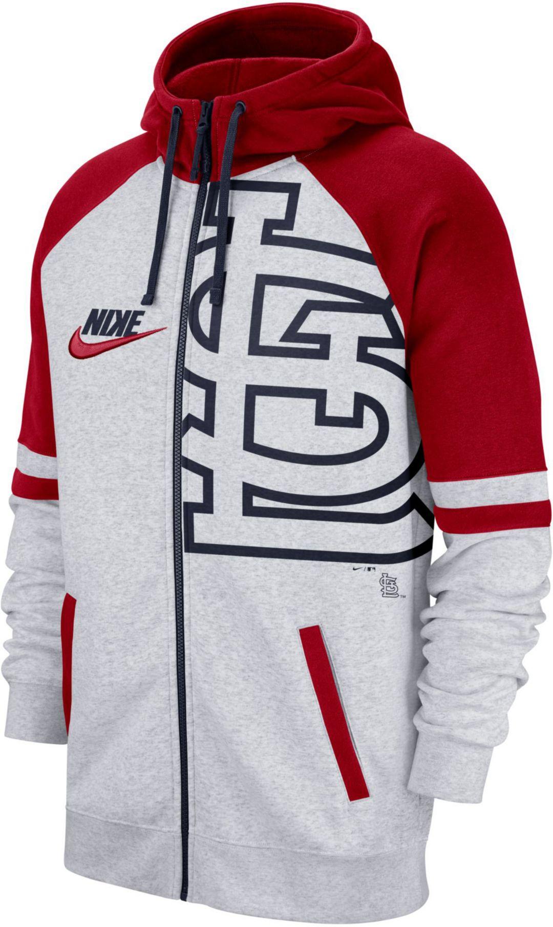 best loved 22798 26390 Nike Men's St. Louis Cardinals Full-Zip Hoodie