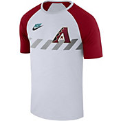 Nike Men's Arizona Diamondbacks Dri-FIT Raglan T-Shirt