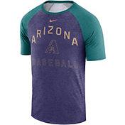 Nike Men's Arizona Diamondbacks Dri-FIT Slub Raglan T-Shirt