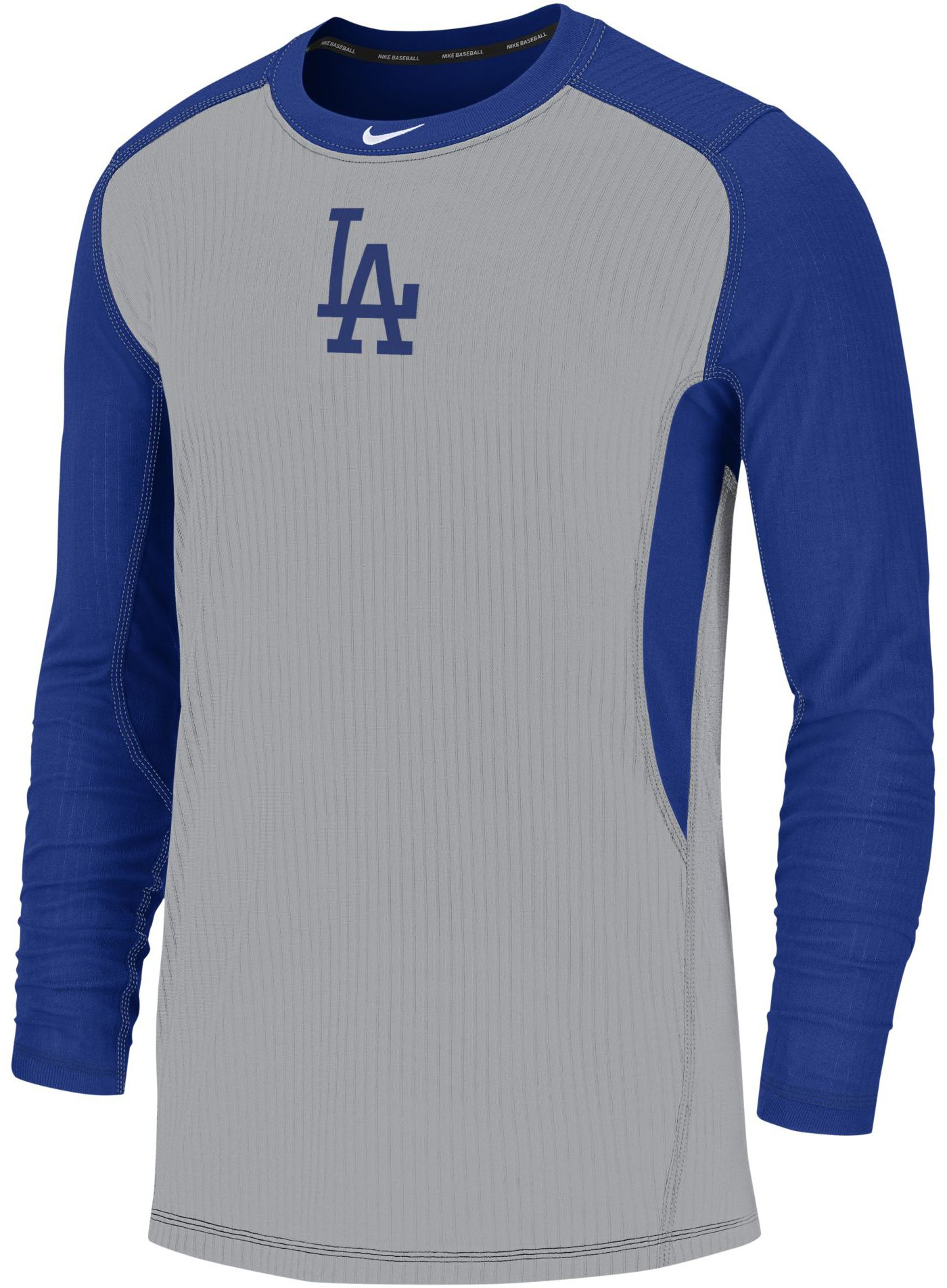 Nike Men's Los Angeles Dodgers Authentic Collection Dri-FIT Long Sleeve Top