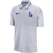 Nike Men's Los Angeles Dodgers Striped Polo
