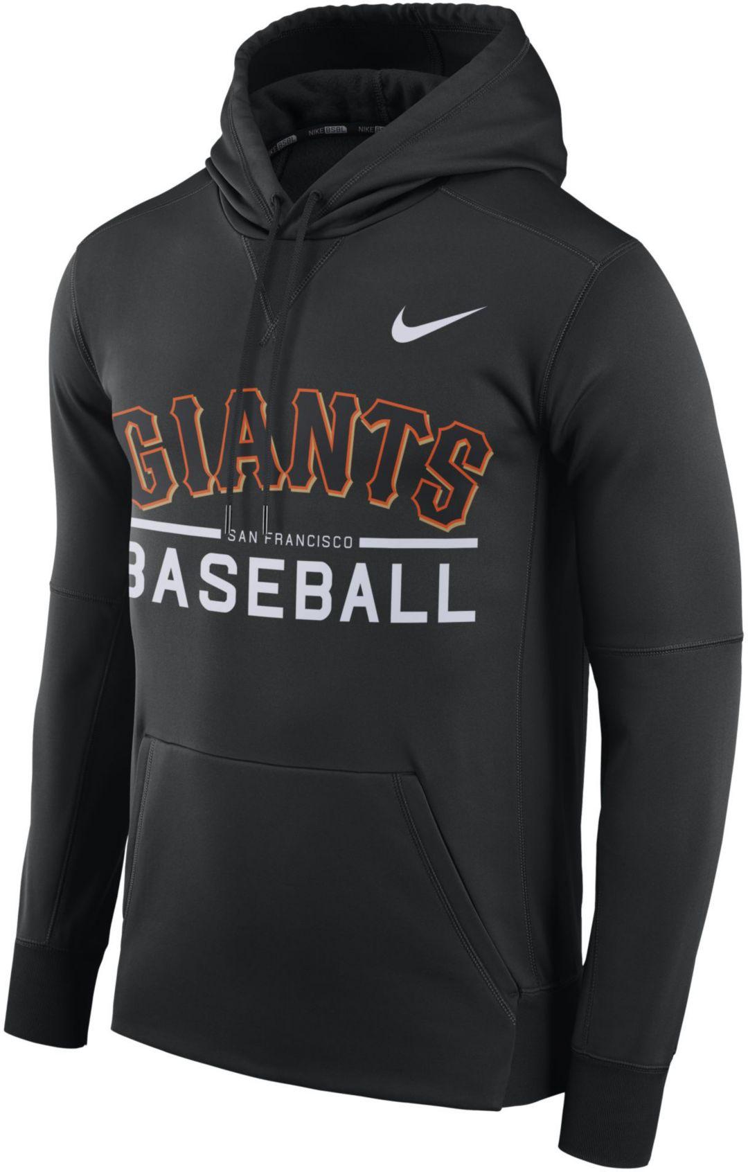 buy popular d626f 9c7c7 Nike Men's San Francisco Giants Pullover Hoodie