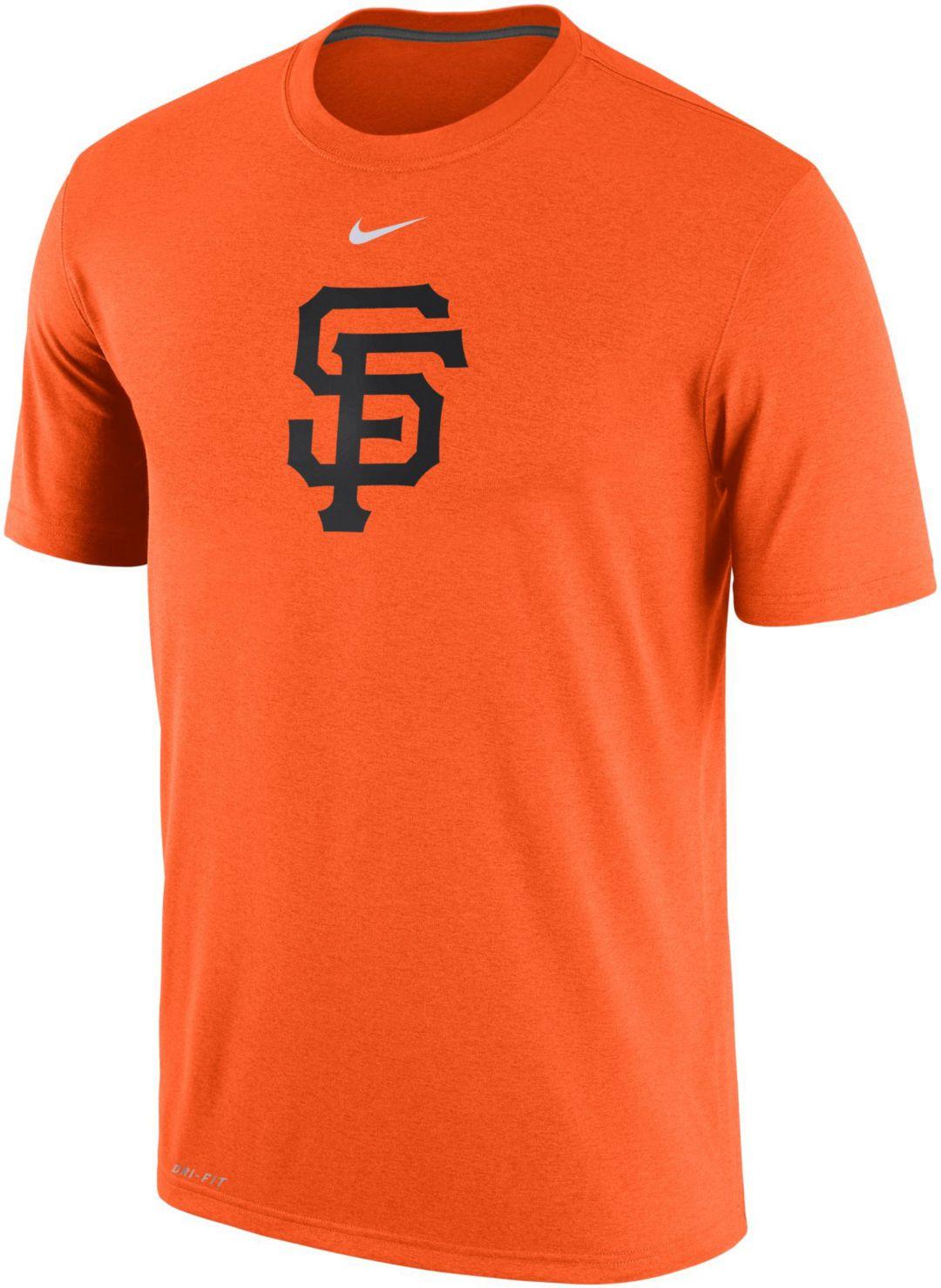 official photos c8926 055c8 Nike Men's San Francisco Giants Dri-FIT Legend T-Shirt