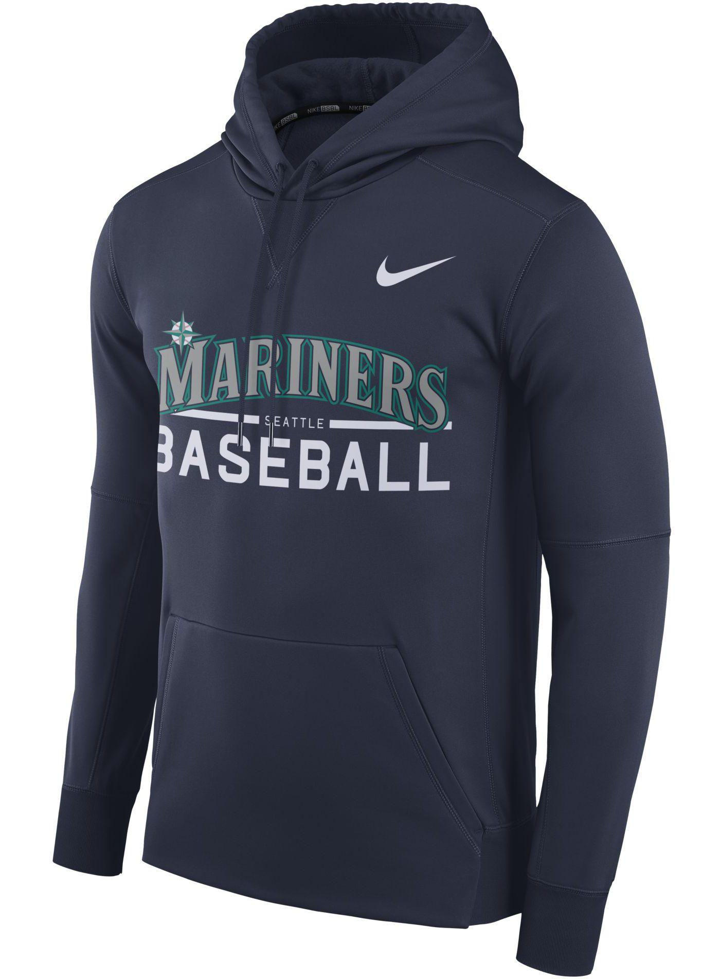 Nike Men's Seattle Mariners Pullover Hoodie