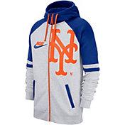 Nike Men's New York Mets Full-Zip Hoodie