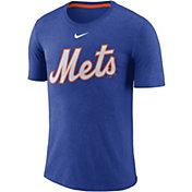 Nike Men's New York Mets Tri-Blend T-Shirt