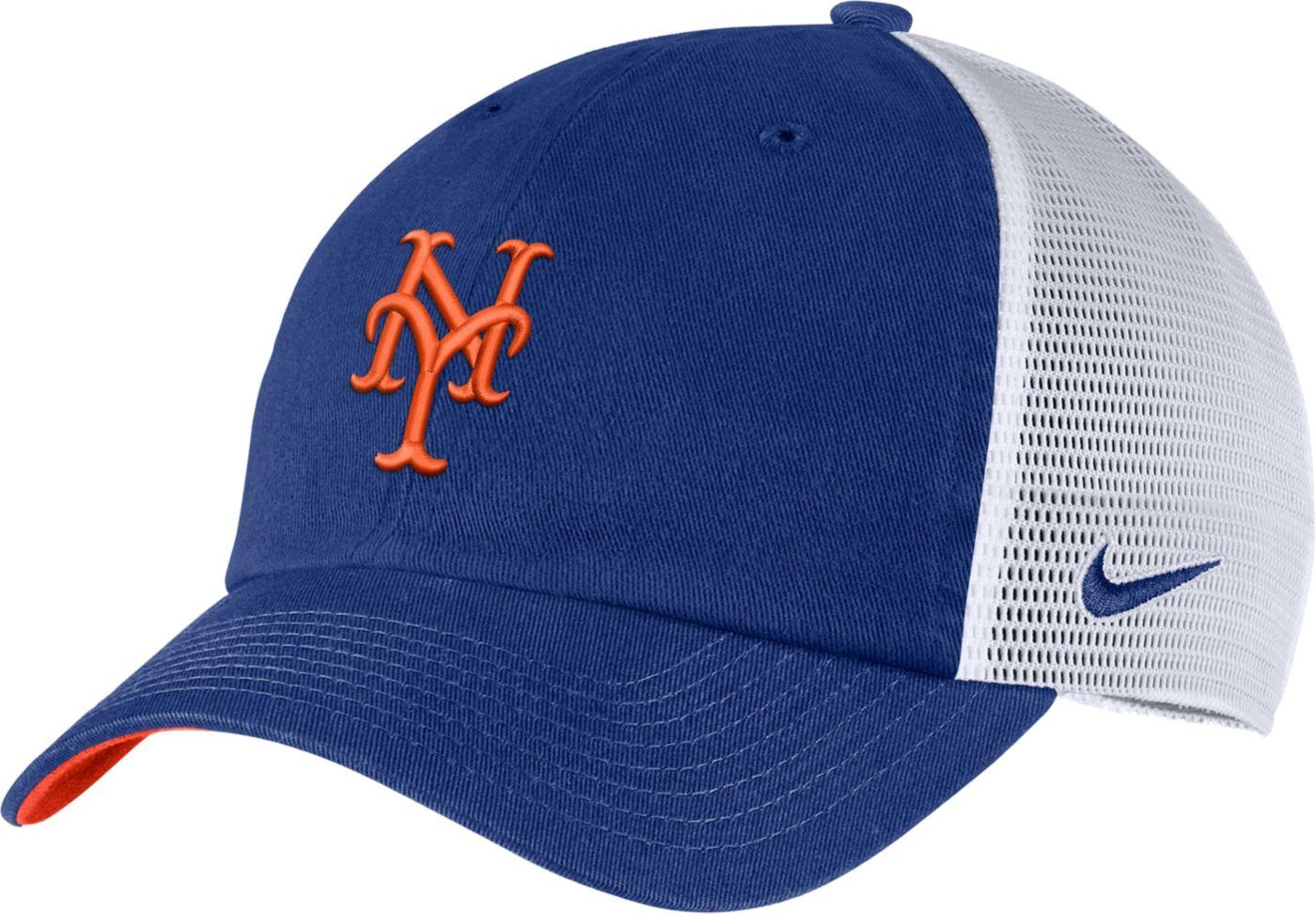Nike Men's New York Mets H86 Trucker Adjustable Hat