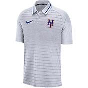 Nike Men's New York Mets Striped Polo