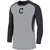 Nike Men's Cleveland Indians Authentic Collection Dri-FIT Long Sleeve Top