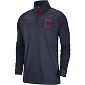 Nike Men's Cleveland Indians Dri-FIT Elite Half-Zip Pullover