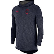 Nike Men's Cleveland Indians Slub Pullover Hoodie
