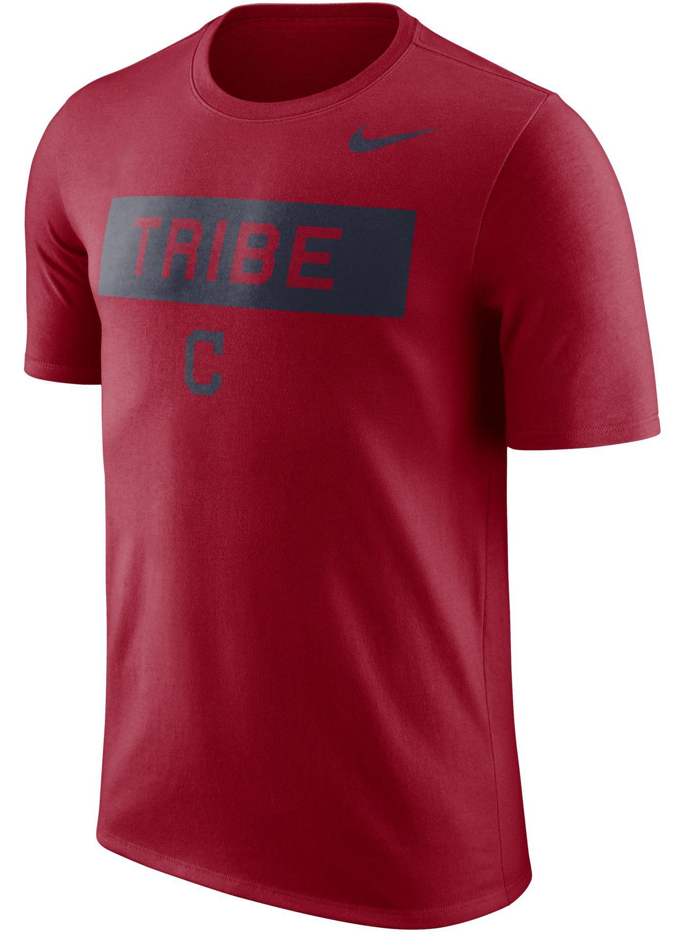 "Nike Men's Cleveland Indians Dri-FIT ""Tribe"" T-Shirt"