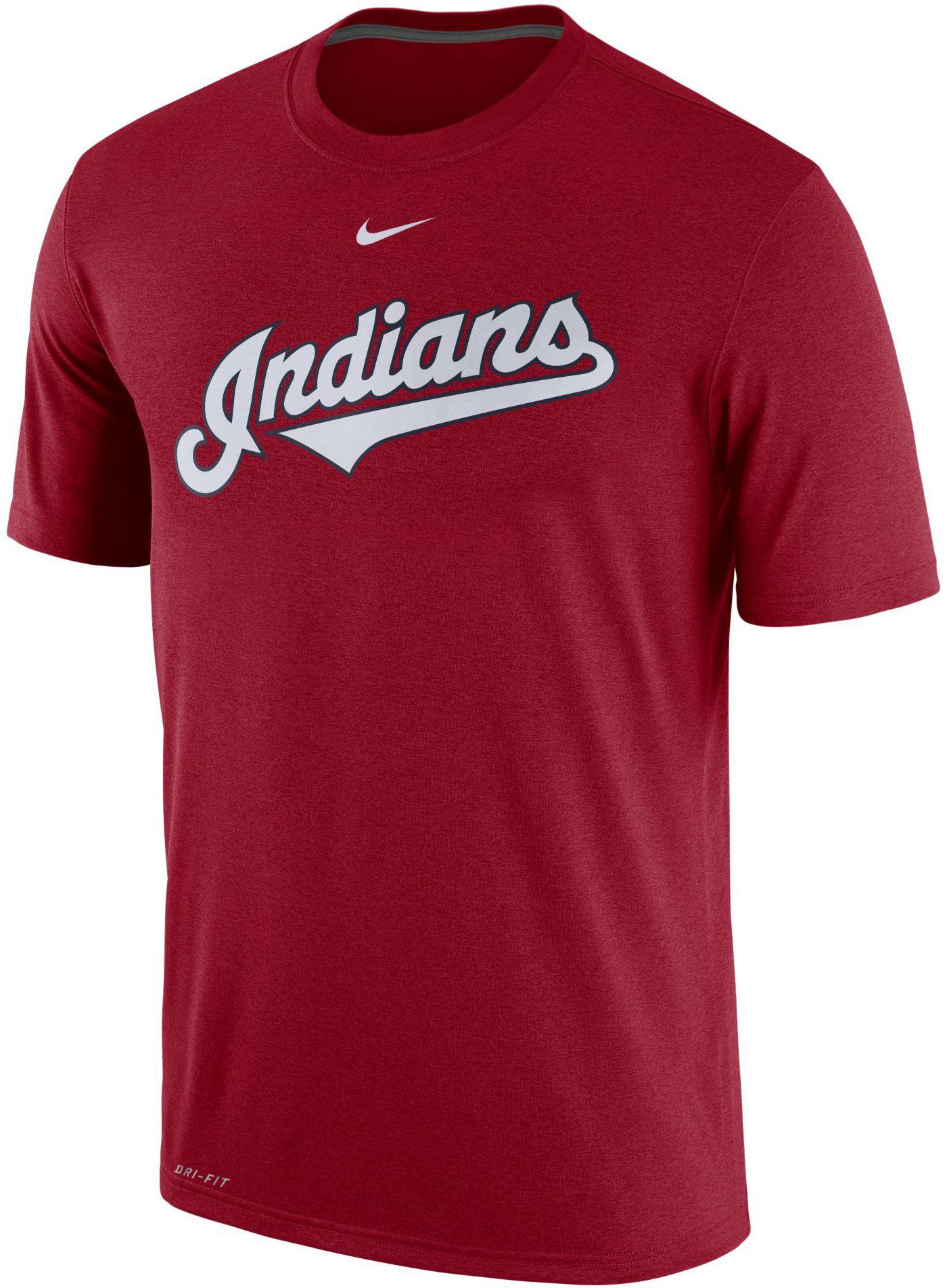 Nike Men's Cleveland Indians Dri-FIT Legend T-Shirt