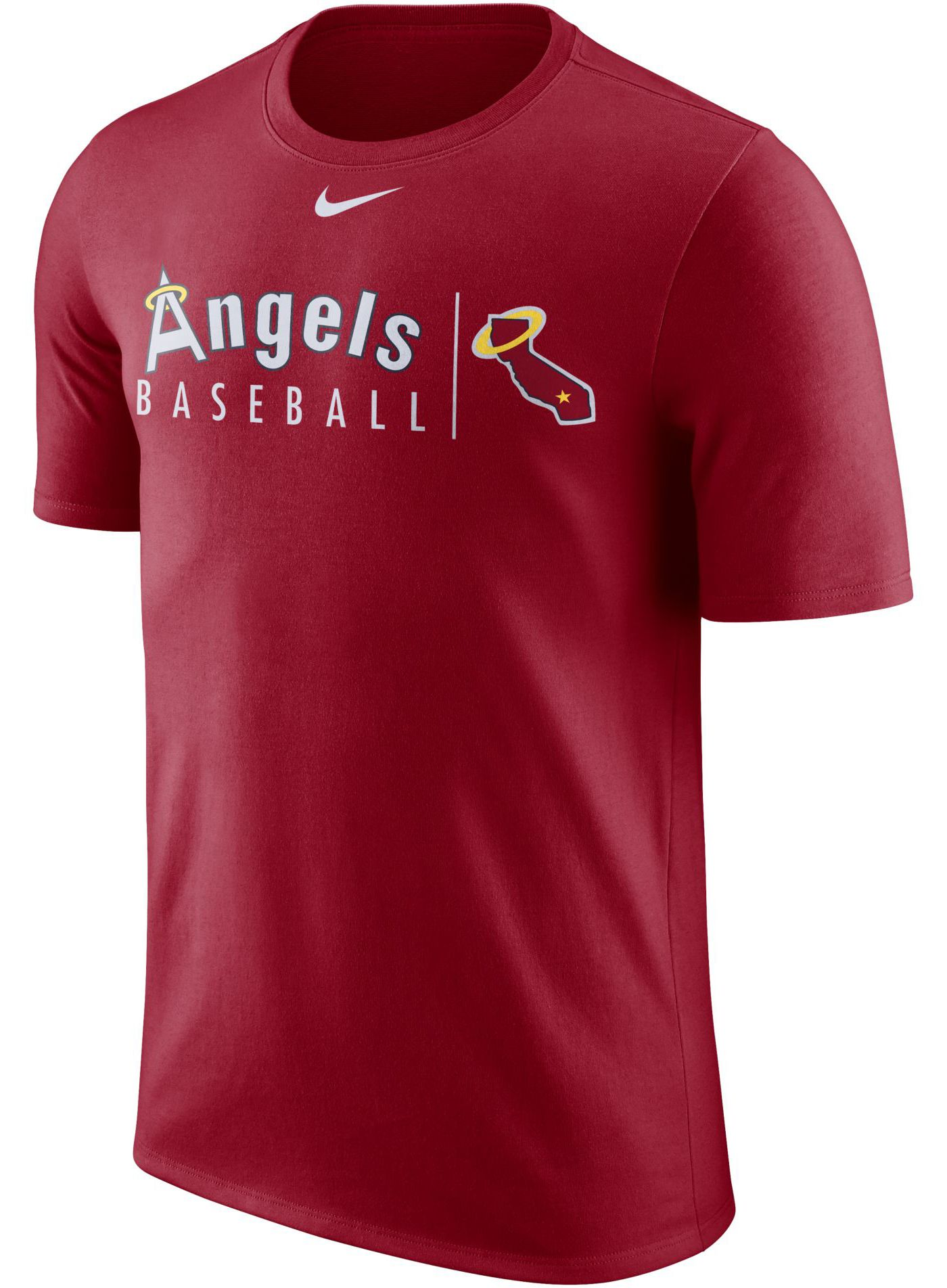 Nike Men's Los Angeles Angels Practice T-Shirt
