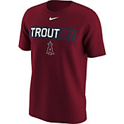 Nike Men's Los Angeles Angels Mike Trout Dri-FIT Red Legend T-Shirt