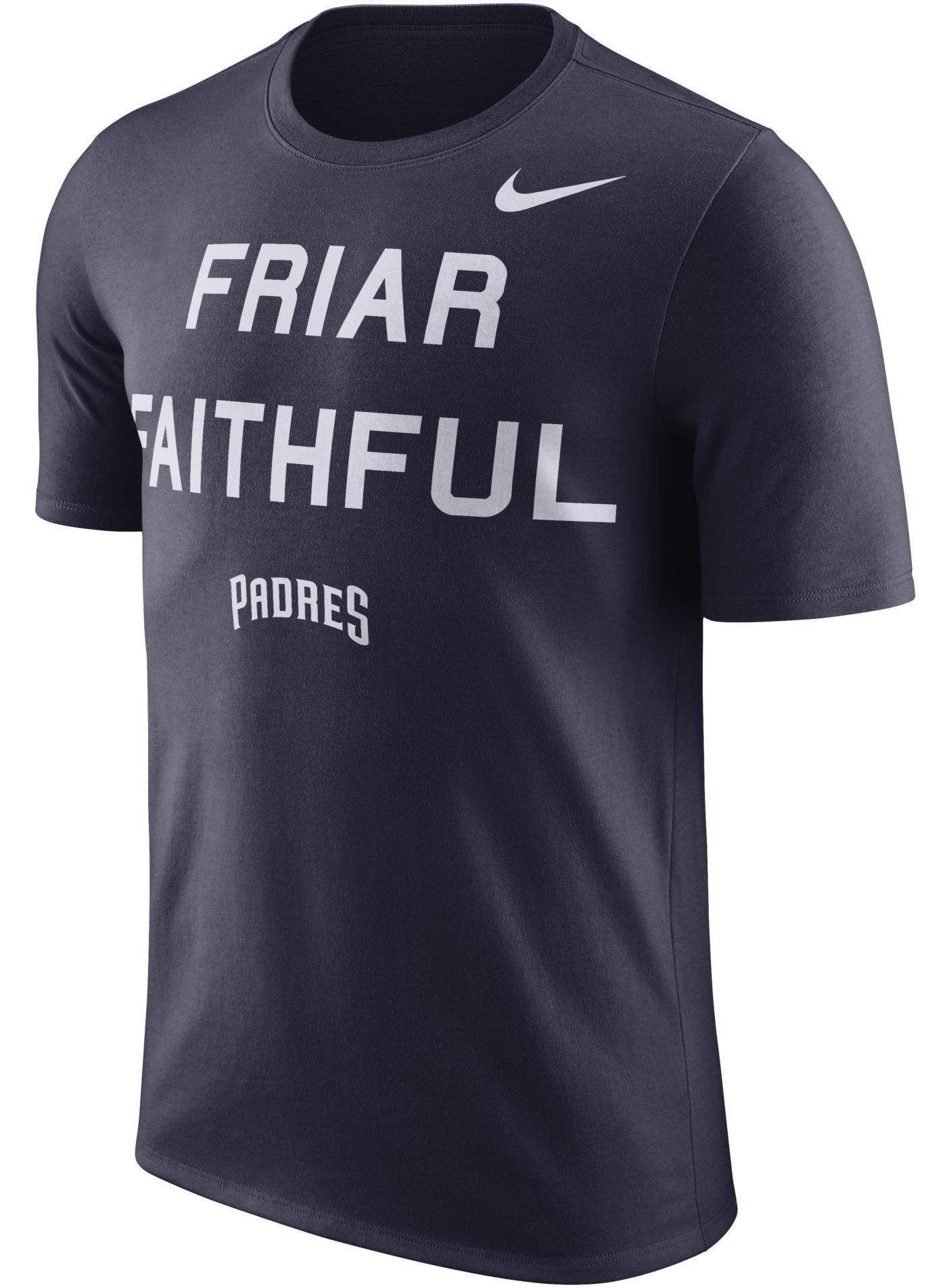 """Nike Men's San Diego Padres Dri-FIT """"Friar Faithful"""" T-Shirt"""