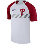 Nike Men's Philadelphia Phillies Dri-FIT Raglan T-Shirt
