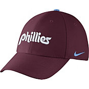 Nike Men's Philadelphia Phillies Dri-FIT Maroon Legacy 91 Swoosh Flex Hat