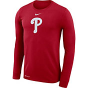 Nike Men's Philadelphia Phillies Dri-FIT Long Sleeve Shirt