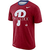 Nike Men's Philadelphia Phillies Dri-FIT Slub Logo T-Shirt