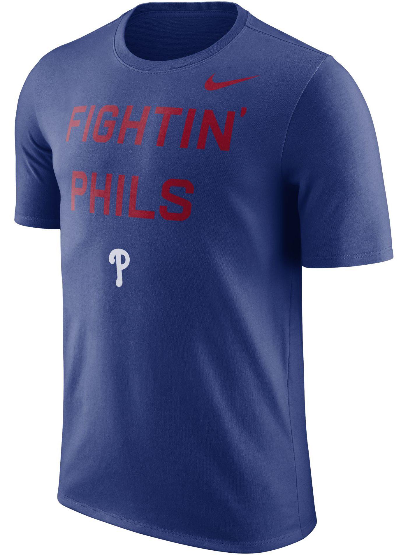 """Nike Men's Philadelphia Phillies Dri-FIT """"Fightin' Phils"""" T-Shirt"""