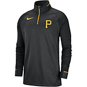 Nike Men's Pittsburgh Pirates Dri-FIT Elite Half-Zip Pullover