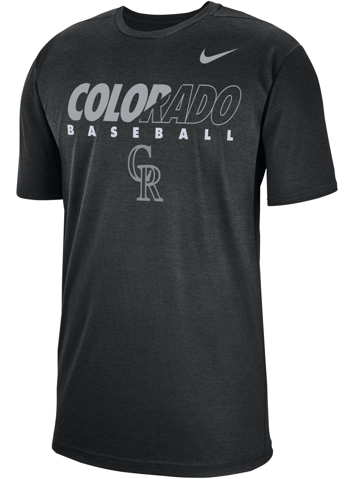 Nike Men's Colorado Rockies Dri-FIT Breathe T-Shirt
